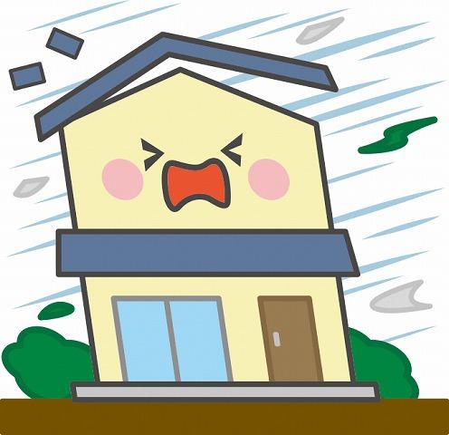 台風による家の被害