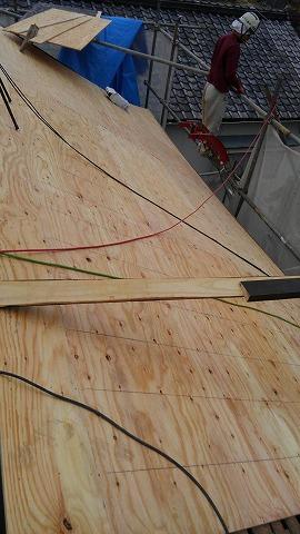 横暖ルーフ構造合板