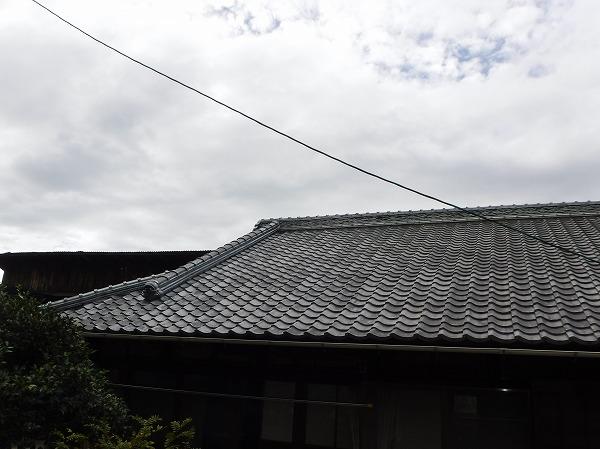 屋根瓦塗装雨漏り
