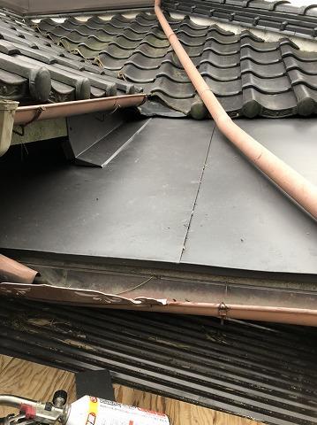 GL板金屋根完成