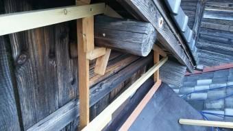 ヨドプリント下地木工事
