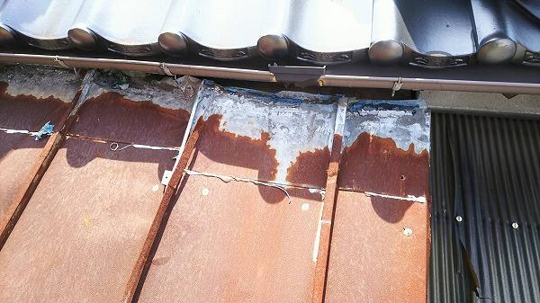瓦棒貼り換え工事