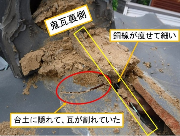 海田町棟瓦取り直し工事解体工事