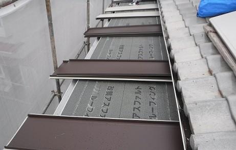 アパートベランダ屋根