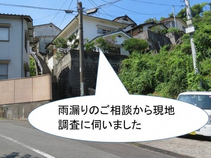 熊野町雨漏り調査凍害