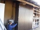 トタン壁貼り工事