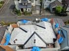 葺き替え工事2階屋根