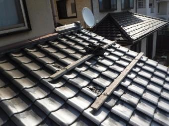 工事用屋根足場