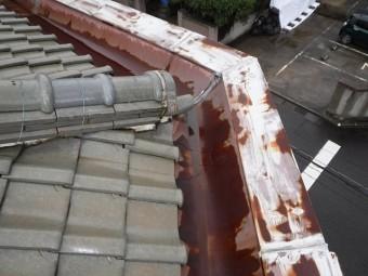 パラペット瓦屋根