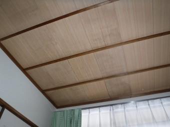 天井板雨シミ