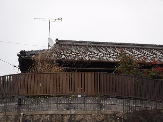 平屋瓦屋根