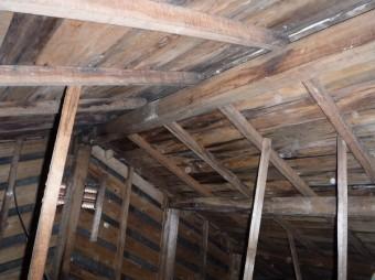 天井裏雨漏り調査
