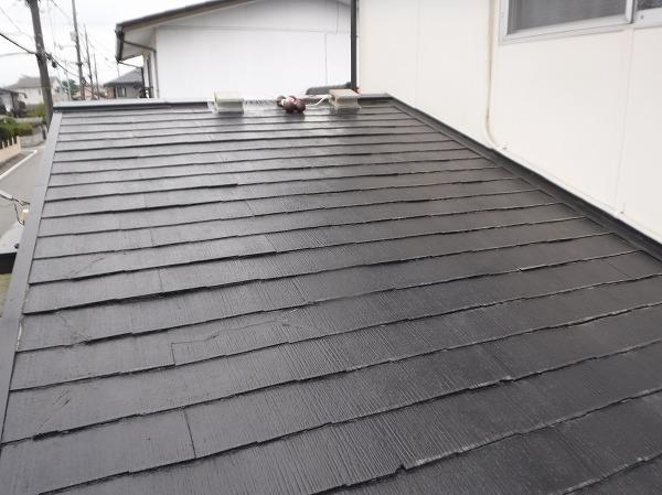 スレート屋根葺き替え調査