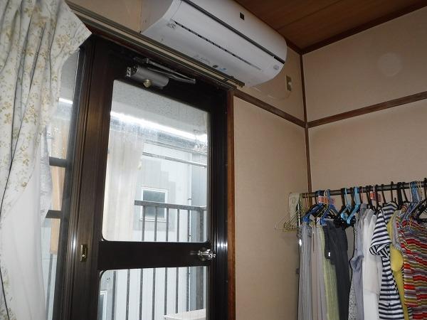 室内雨漏り箇所