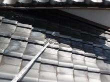 階段近く天井雨漏り箇所