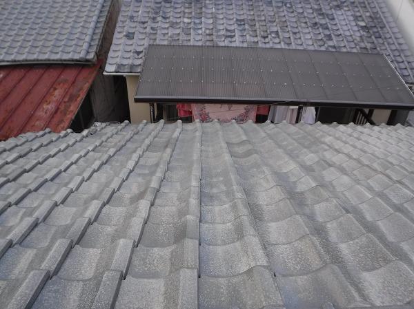 雨漏り屋根瓦