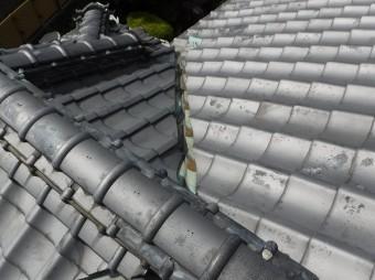 瓦屋根銅板谷板