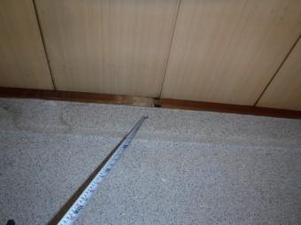 室内雨漏り跡
