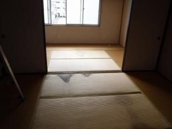 雨漏り室内
