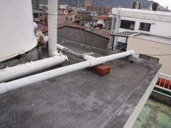 貯水タンク防水屋根