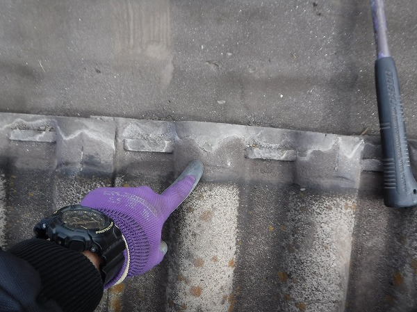 モニエル瓦葺き替え工事瓦重なり代雨水逆流