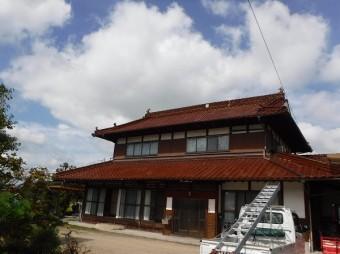 東広島市瓦修理調査