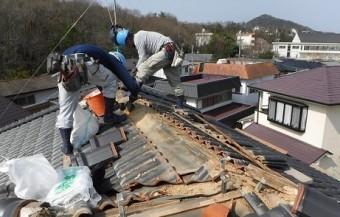 棟際赤土掃除