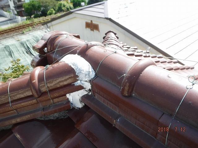 寄棟屋根の雨漏り