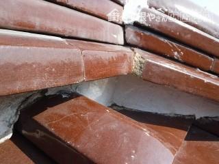 雨漏り棟の修理