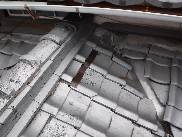 瓦のずれ修理
