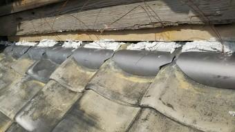 屋根の瓦修理