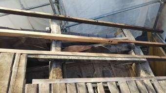 1階瓦屋根・下地補強