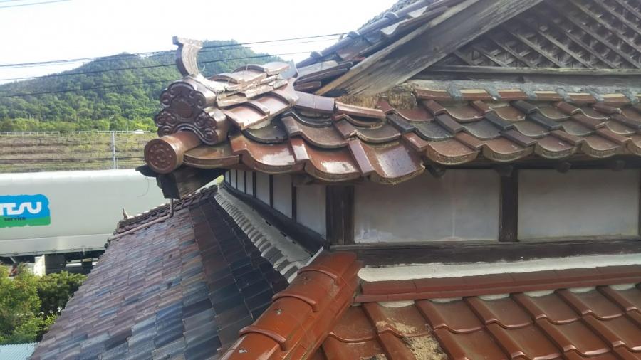 会社寮屋根修理