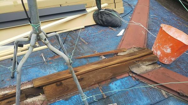 棟貫板劣化