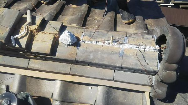棟積み復旧工事