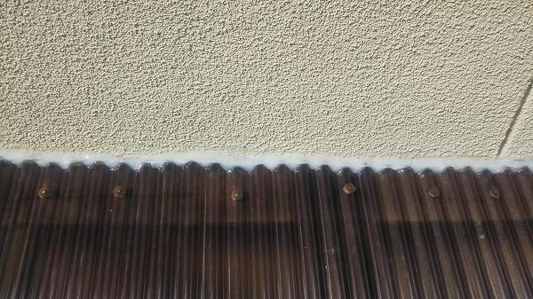 壁際防水処置
