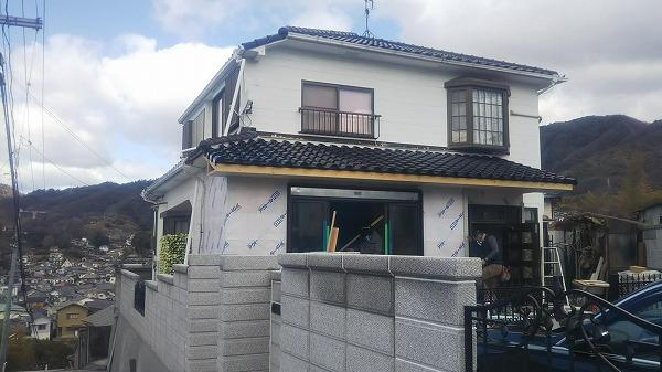 東広島市屋根リフォーム工事完成