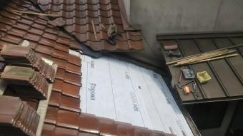 屋根下地ルーフィング貼り工事