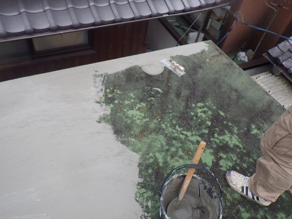 ウレタン防水下地塗り
