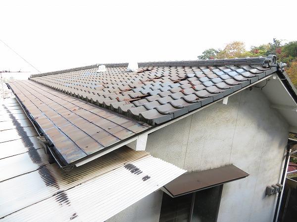 熊野町凍害屋根リフォーム工事