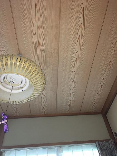 雨漏り和室天井