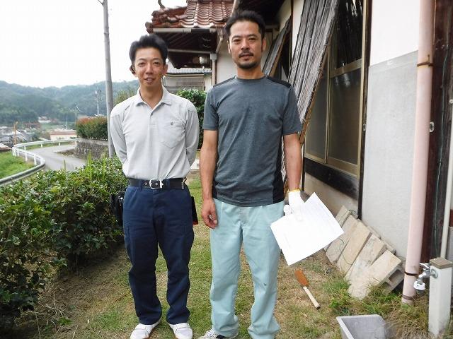東広島市志和町にて雨漏りでお困りのお客様のお喜びの声を頂戴しました。