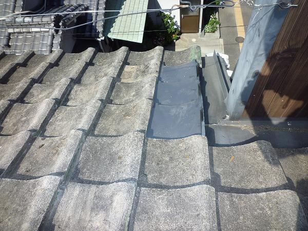 セメント瓦雨漏り修理完工