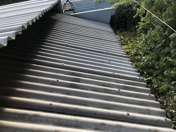板金屋根上増し貼り工事