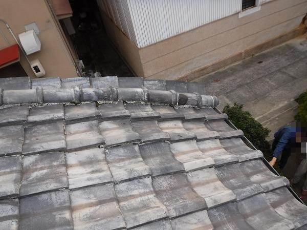 屋根上調査