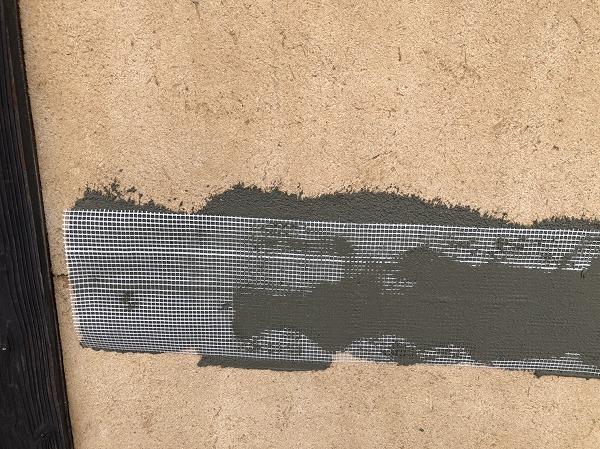 呉市外壁リフォーム土壁下地処理