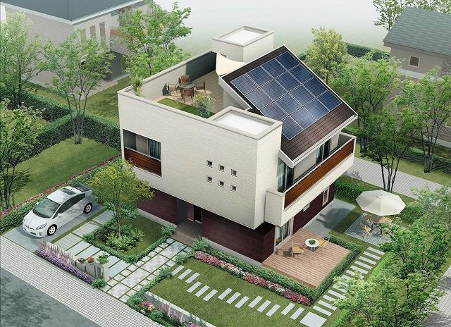 屋上のある家イメージ