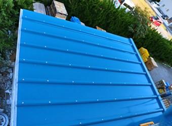 雨量が多い多い屋根に設置した防水紙